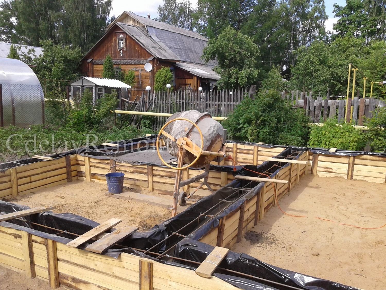 Ленточный фундамент ключ калькулятор область Одинцовский район
