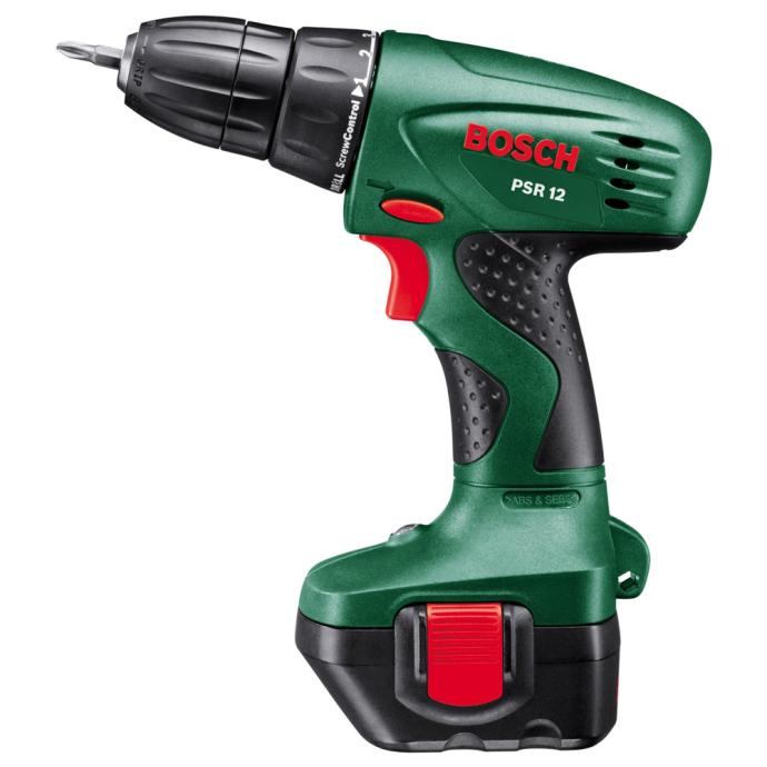 Bosch PSR 12 1.2 Ah x1 Tapauksessa