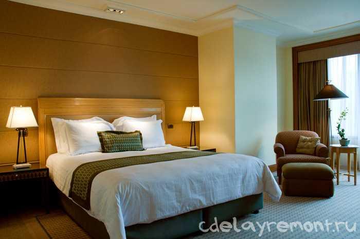 Спальная комната, освещение