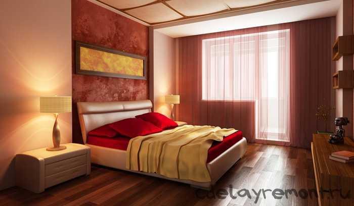 Оформление помещения для сна и отдыха