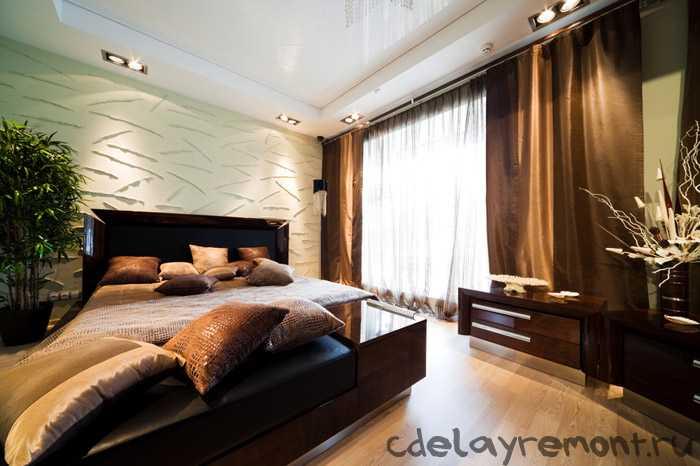 Современный облик спальни