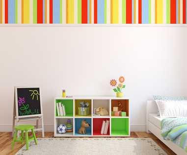 Оформление спальни для ребенка