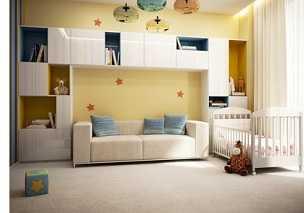 Дизайн спальной в светлый тонах