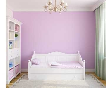 Дизайн с белой кроватью
