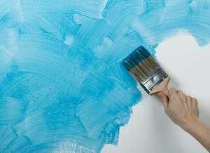 Покраска штукатурки своими руками