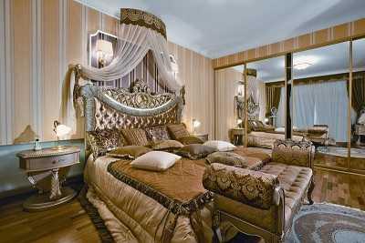Фото спальной для королевы