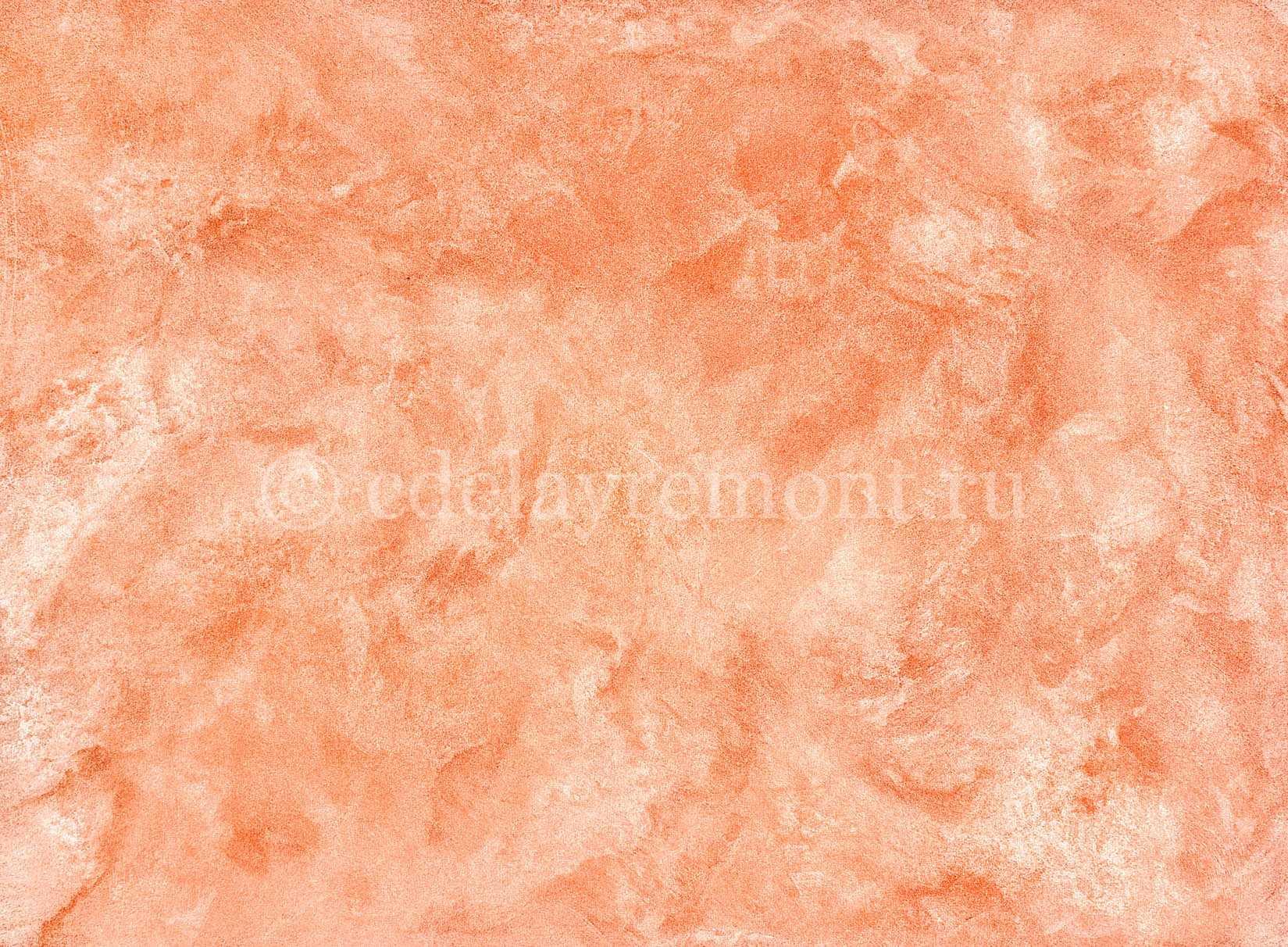 Пример поверхности, покрытой венецианской штукатуркой