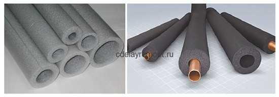 Термоизоляционные трубы