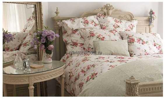 спальня для...  Чтобы воплотить стиль Шебби Шик в интерьере спальни...