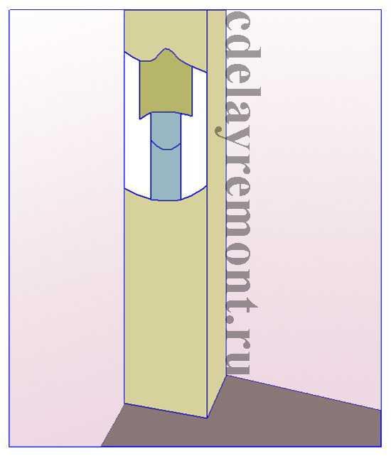 Короб из гипсокартона