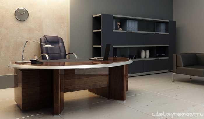 Оформление офисного кабинета