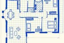 House plan doodle