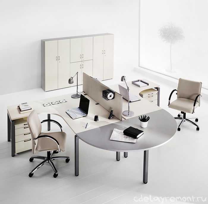 Дизайн небольшого современного офиса