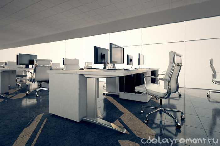 Интерьер современного офисного помещения