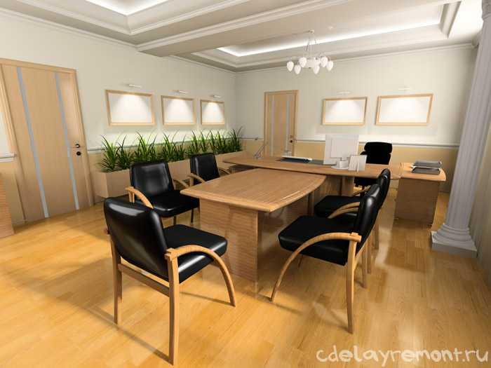 Дизайнерское решение для офиса
