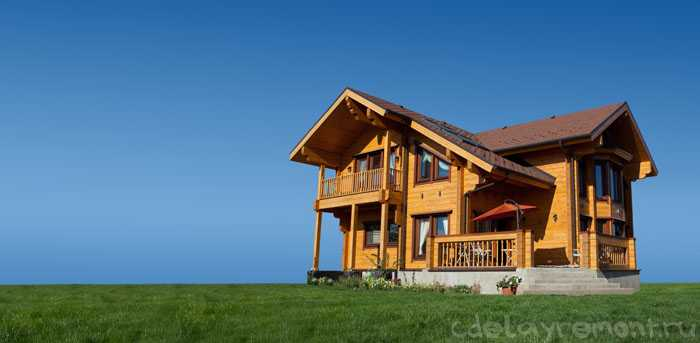 Дом из профилированного бруса (фото)