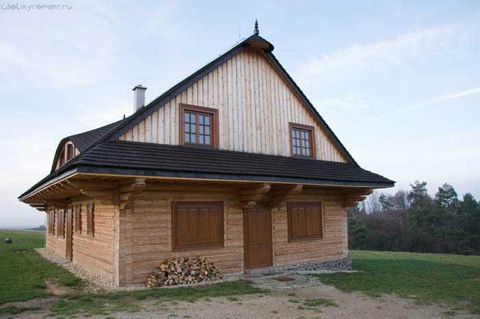 Использование бруса 150х200 мм в строительстве домов
