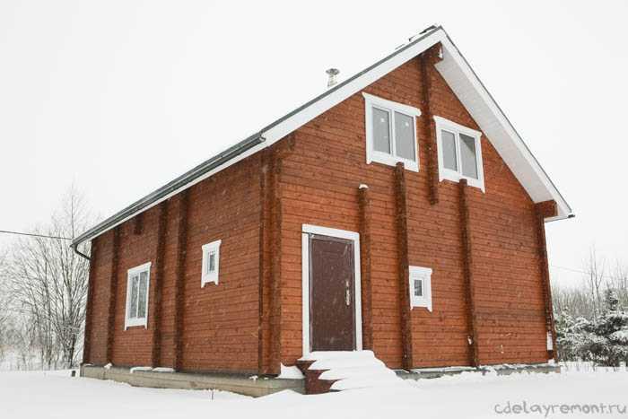 Дом из бруса 180х180 мм