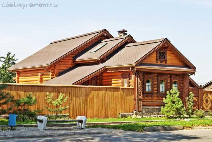 Конопатка стен деревянного дома