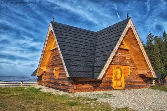 Как поднять дом из бруса
