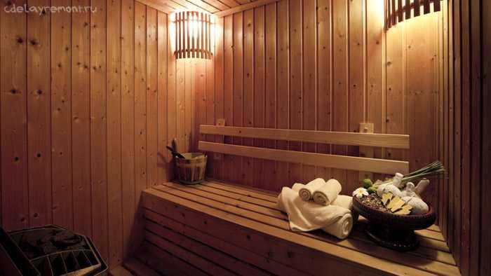 Недорогая баня из бруса