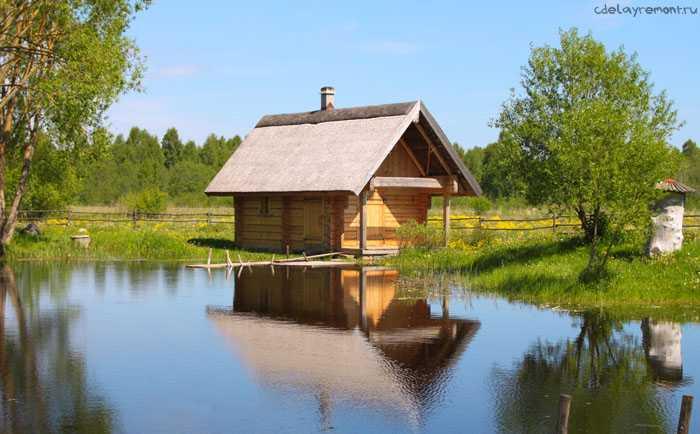 Можно ли построить баню из бруса недорого? Можно!