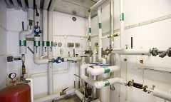 Тепловой пункт системы отопления