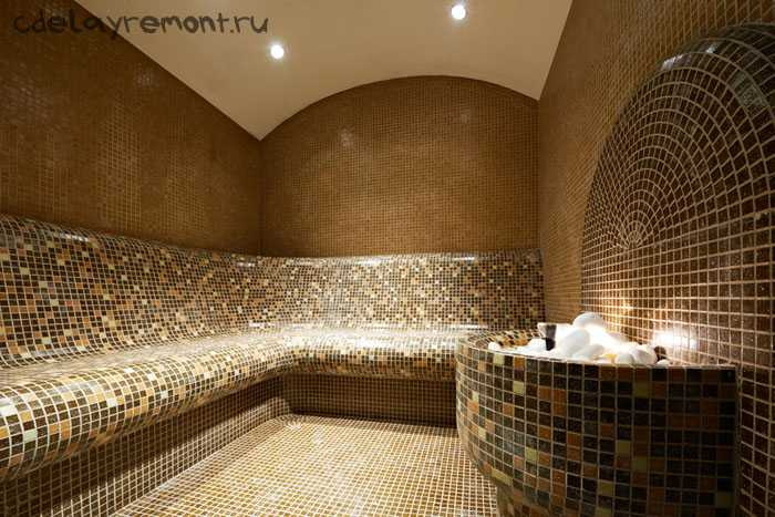 Дизайнерское решение для бани
