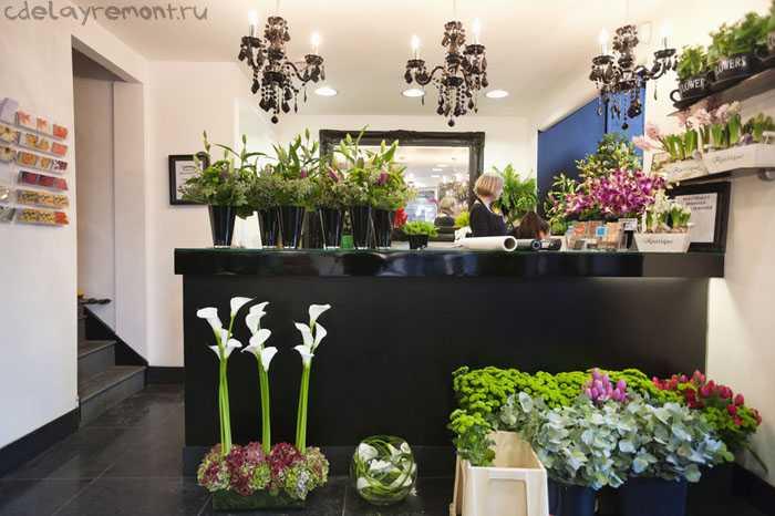 Фото дизайна цветочного магазина