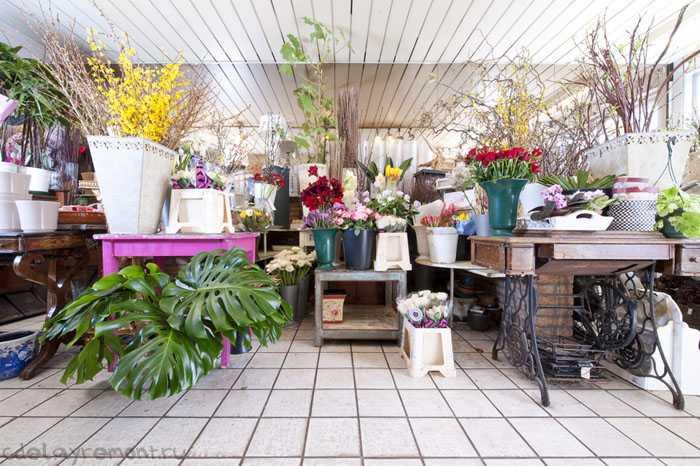 Дизайн магазина цветов