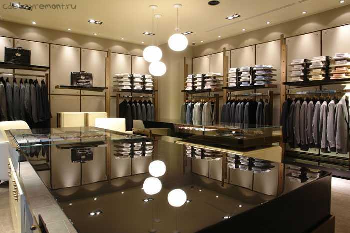 Дизайнерские решения для оформления магазина