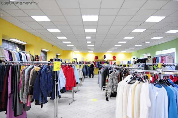 Дизайн одежного магазина