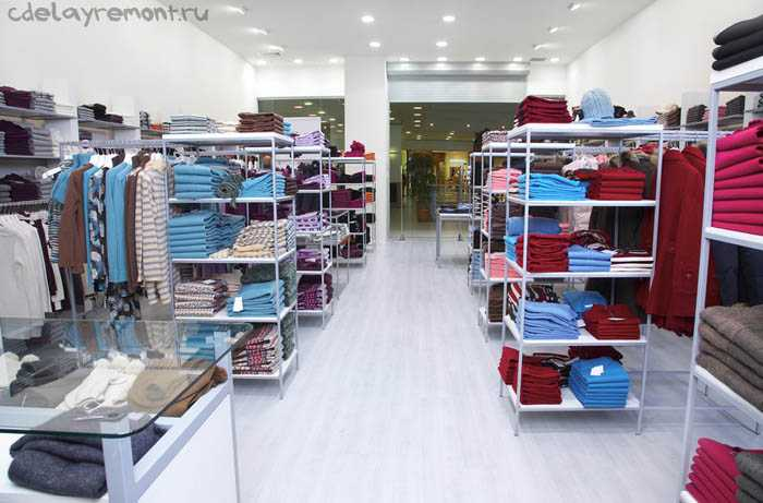 Стильный интерьер магазина