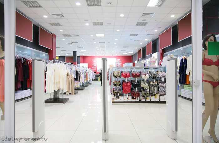 Фото интерьера магазина нижнего белья