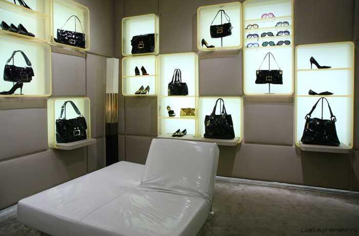 Оформление обувного магазина