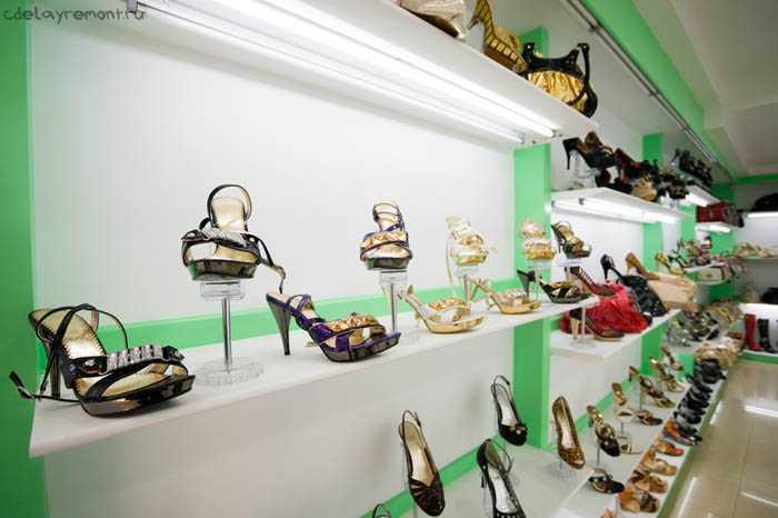 Женский обувной магазин