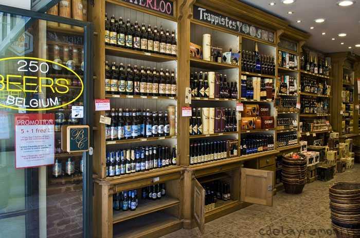 Дизайн магазина пива