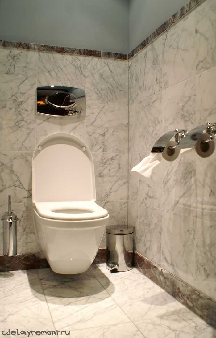Небольшой туалет (фото)
