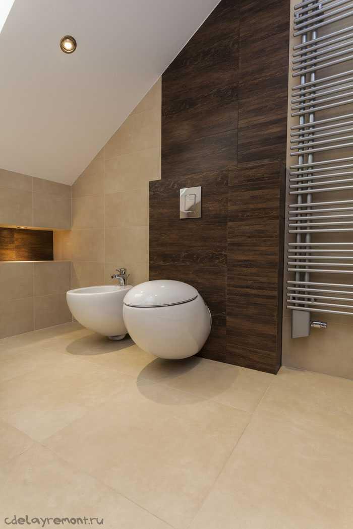 Совмещенный туалет и ванная (фото)