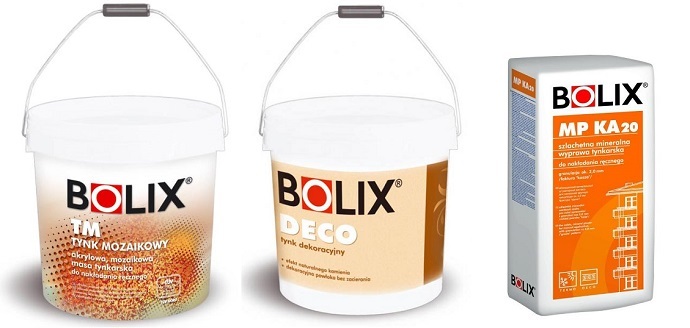 Декоративная штукатурка Bolix