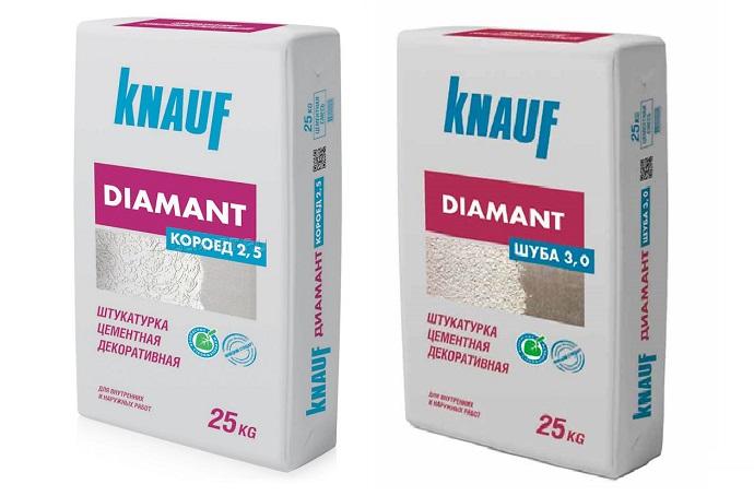 Декоративная штукатурка Knauf