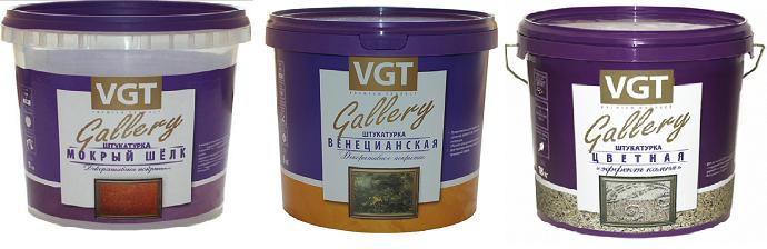 Декоративная штукатурка VGT