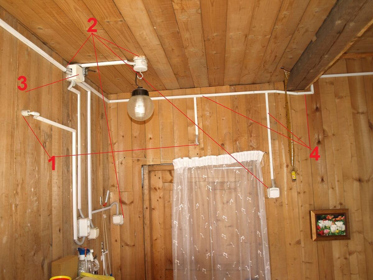Электрика в деревянном доме видео в канале