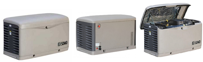 KOHLER-SDMO: PERFORM 3000 GAZ, SDMO RESA14T-380