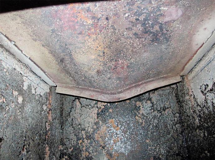 Искривление стенок котла
