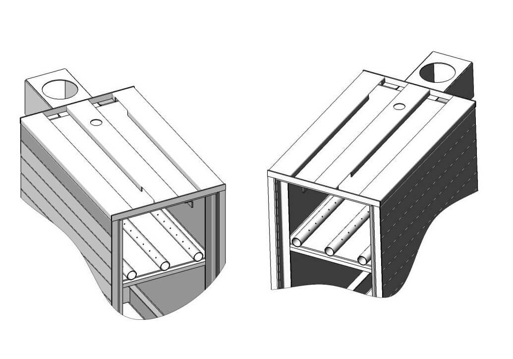 Примеры чертежей для самостоятельного изготовления котла