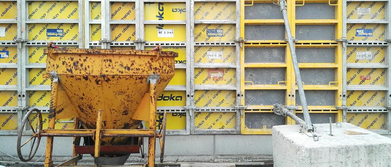 смесь бетонная запас